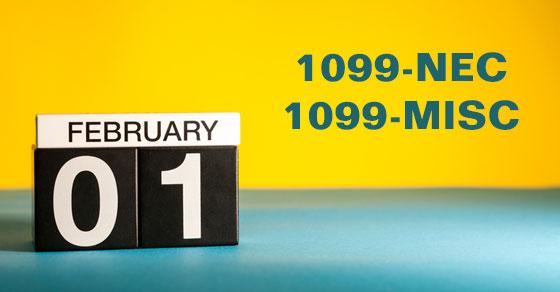 new Form 1099-NEC